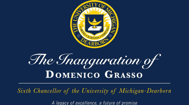 Chancellor Domenico Grasso inauguration April 12