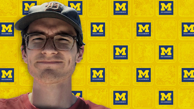 Senior Owen Ekblad is a math major and a Spring 2020 graduate