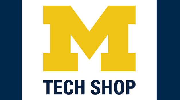 U-M Tech Shop logo