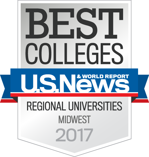 U.S. Regional Universities Midwest 2017 badge