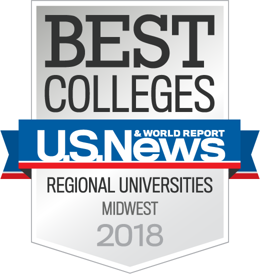 U.S. Regional Universities Midwest 2018 badge
