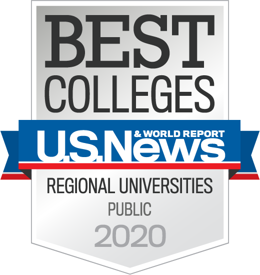 U.S. Regional Universities Midwest 2020 badge